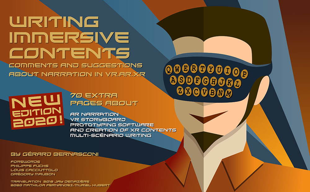 eBook cover Writing immersive contents